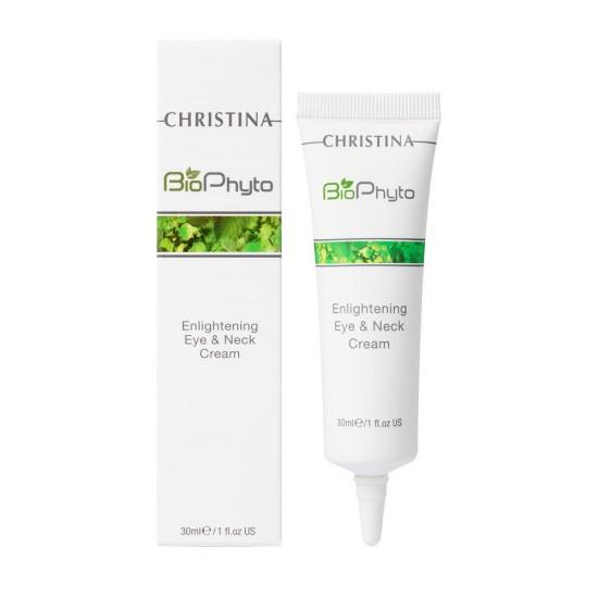 Christina (Bio Phyto) Осветляющий крем для кожи вокруг глаз и шеи, 30 мл