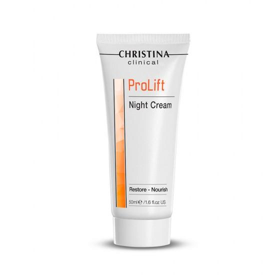 Christina Clinical (ProLift) Восстанавливающий питательный ночной крем, 50 мл