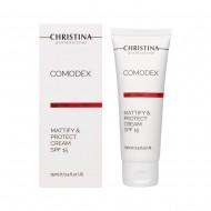 Christina (Comodex) Матирующий защитный крем SPF 15, 75 мл