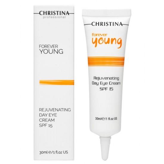 Christina (Forever Young) Омолаживающий дневной крем для кожи вокруг глаз SPF 15, 30 мл
