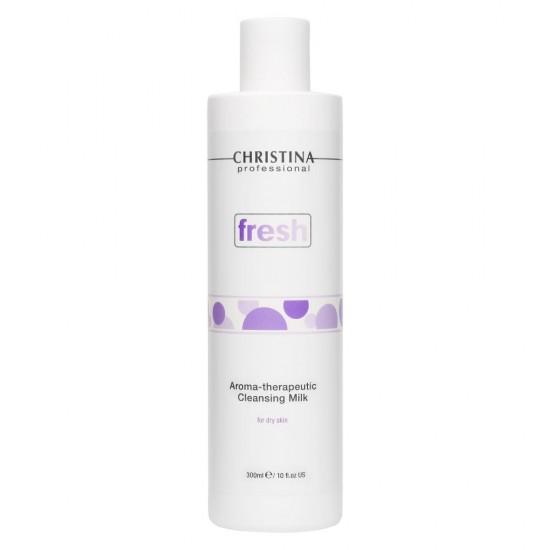 Christina Ароматерапевтическое очищающее молочко для сухой кожи, 300 мл