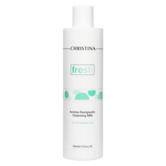 Christina Ароматерапевтическое очищающее молочко для жирной кожи, 300 мл
