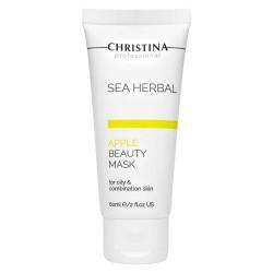 Christina Маска красоты для жирной и комбинированной кожи «Яблоко», 60 мл