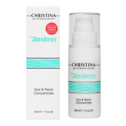 Christina (Unstress) Концентрат для кожи вокруг глаз и шеи, 30 мл