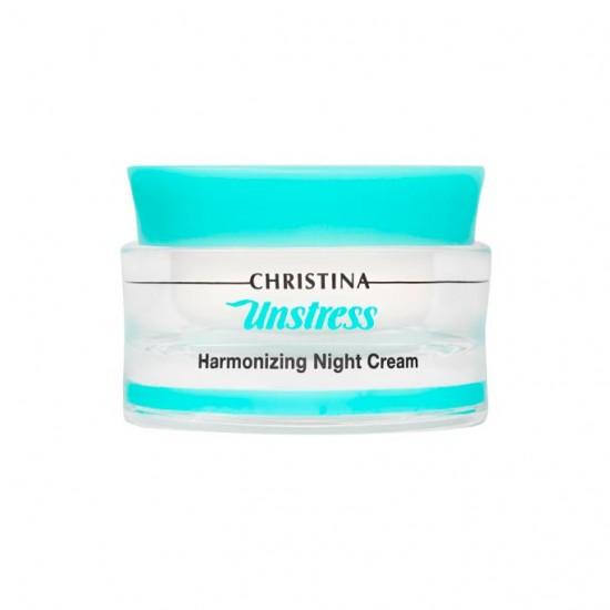 Christina (Unstress) Гармонизирующий ночной крем, 50 мл