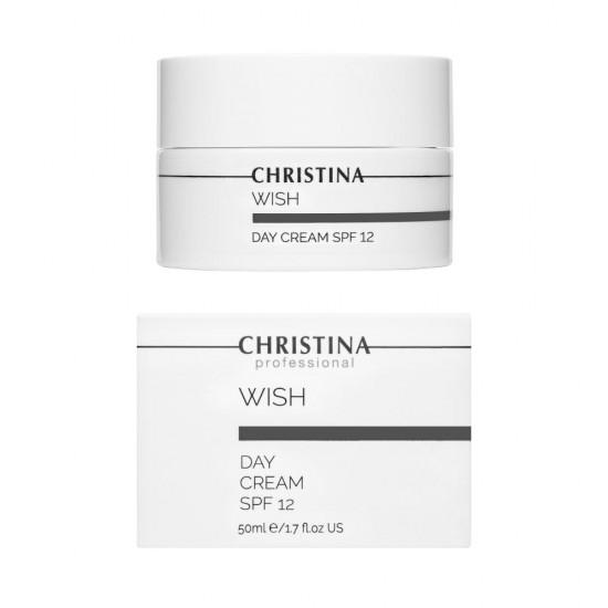 Christina (Wish) Дневной крем с SPF 12, 50 мл
