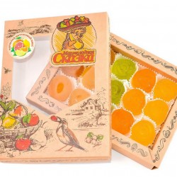 Мармелад «Цитрусовый микс» (Грейпфрут, Лимон, Апельсин, Лайм) 500г.