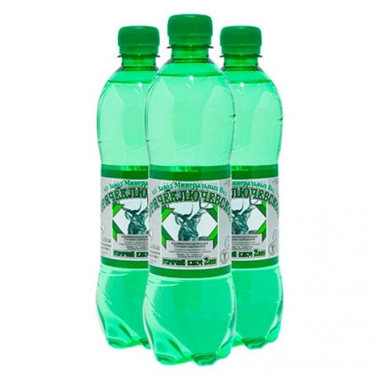 Вода минеральная столовая «Горячий Ключ 2000» газированная, 0,5л ПЭТ