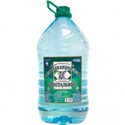 Вода питьевая природная «Горячий Ключ КРИСТАЛЬНЫЙ» 5л ПЭТ